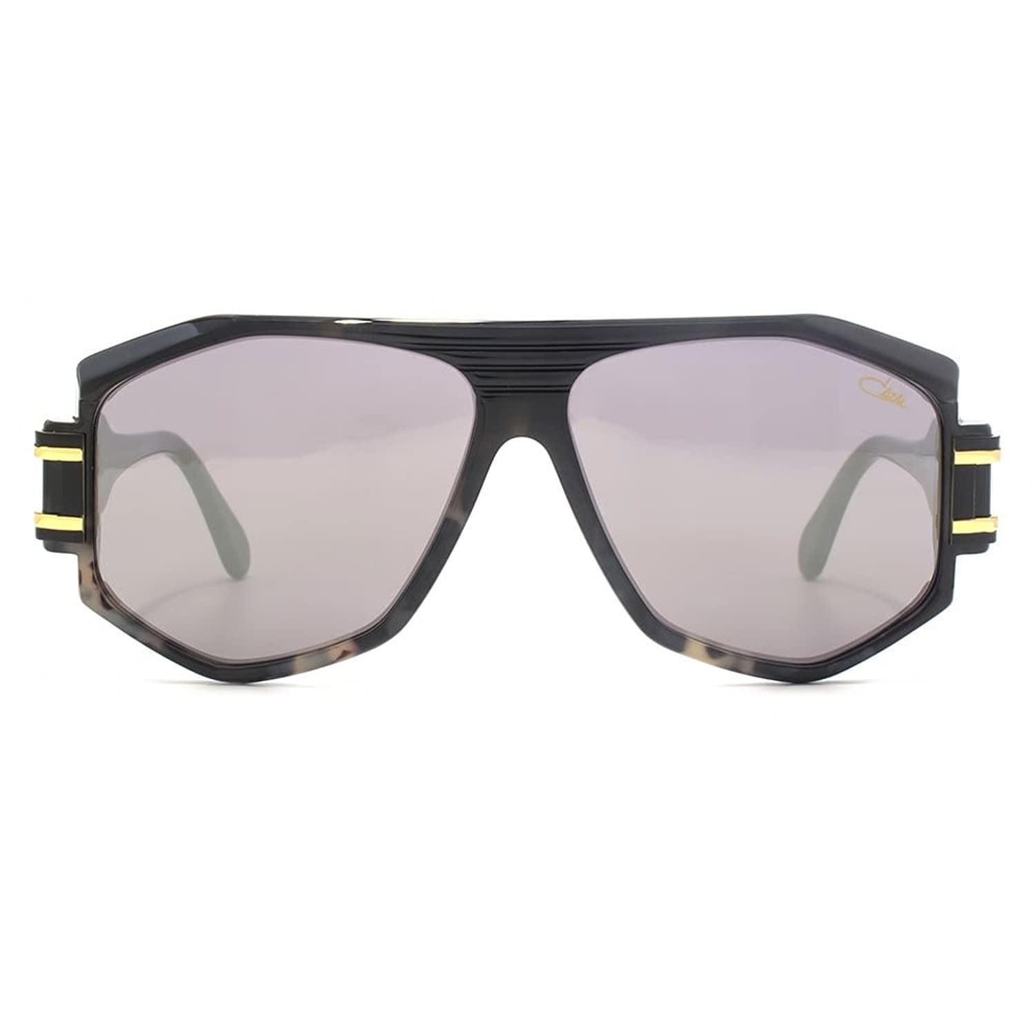 Cazal Legenden 163 Pilotenbrille in schwarz Havanna 163/321 093 59 59 Grey Flash Mirror cE9hXbv