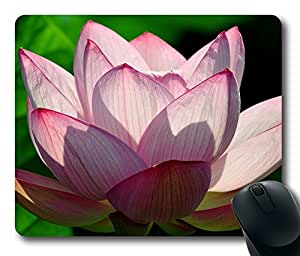 Lotus Flower Mouse Pad Desktop Laptop Mousepads Comfortable Office Mouse Pad Mat Cute Gaming Mouse Pad by runtopwell