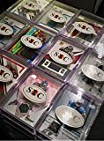 NFL Football Trading Cards Lot Of 10 With Each Card A Game Used Relic Cards Or Autograph In Every Box