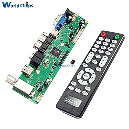 5ba9c6837e5 Image Unavailable. Image not available for. Color  Universal LCD Controller  Board Resolution TV Motherboard VGA HDMI AV TV USB