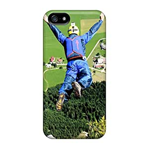 Hot Fashion Vdr34482VaCd Design Cases Covers For Iphone 5/5s Protective Cases (base Jump)