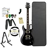 Paul Reed Smith Guitars ST22BK-Kit02 PRS SE Standard 22 Black Electric Guitar with ChromaCast Hard Case & Accessories
