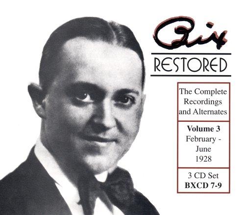 Bix Restored Volume 3: 1928