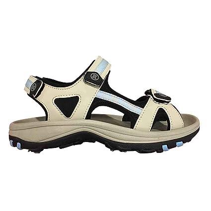 4477196c07fb Revelation New Lady Cool Sandals Golf Shoes Beige/Blue Retail $99-Pick Size