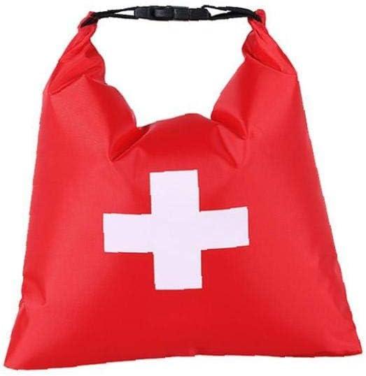 Erste-Hilfe-Tasche wasserdichte Erste Hilfe Im Notfall Leeren Tasche Tragbare Reise-Dry Bag F/ür Camping Wandern Bag