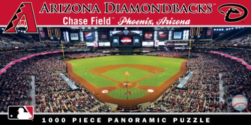 MasterPieces MLB Arizona Diamondbacks Stadium Panoramic Jigsaw Puzzle, 1000-Piece
