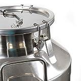 TFCFL Stainless Steel Milk Can Wine Pail Bucket