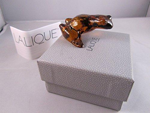 Lalique Amber - Lalique Paris Amber Jumping Frog