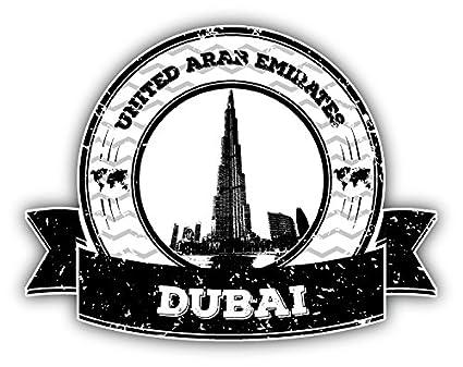Chicago Grunge Rubber Travel Stamp Car Bumper Sticker Decal 3/'/' 5/'/' or 6/'/'
