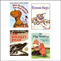 The Biggest Bear, How Do Dinosaurs Get Well Soon?, The Pig's Wedding, & Possum Magic