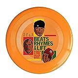 RCINC Beats Rhymes Life Outdoor Game Frisbee Light Up Flying Orange
