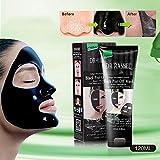 #10: Blackhead Remover Mask, ETTG Bamboo Charcoal Deep Cleansing Acne Black Mud Face Mask, Blackhead Peel-off Mask