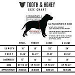 Tooth & Honey Dog Sweater/Pitbull/Large Dog/French Bulldog/Colorblock Sweatshirt/Pullover 12
