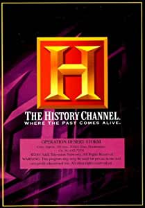 history channel presents operation desert storm 2 dvds set movies tv. Black Bedroom Furniture Sets. Home Design Ideas