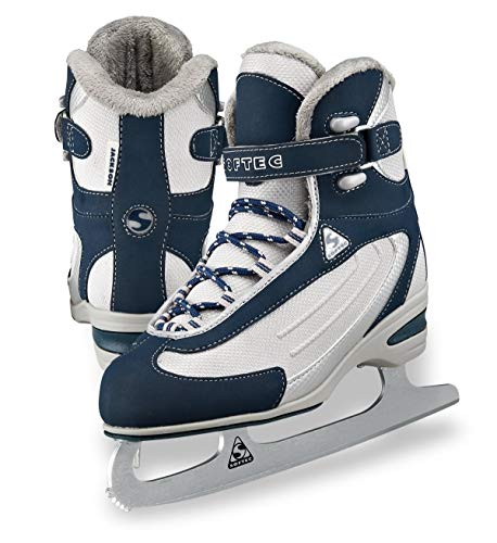 Jackson Ultima Softec Classic Junior ST2321 Kids Ice Skates - Navy, Size - Boot Figure Skate Soft