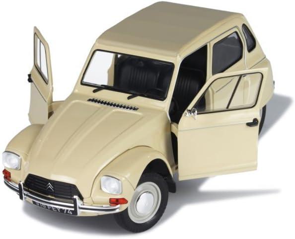 Citroen Dyane 6 1967 gelb Modellauto 1:18 Solido