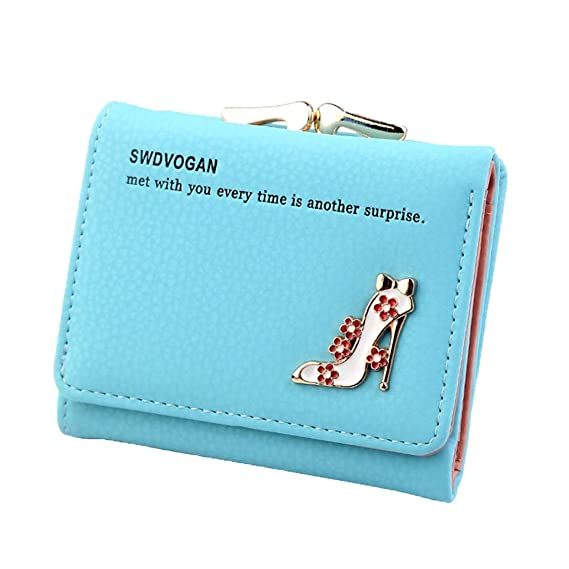 Wallet Women Purses Vintage Fashion Small Wallet High Heel ...