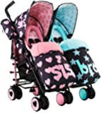 Cosatto Supa Dupa Sis and Bro 5 Double Stroller