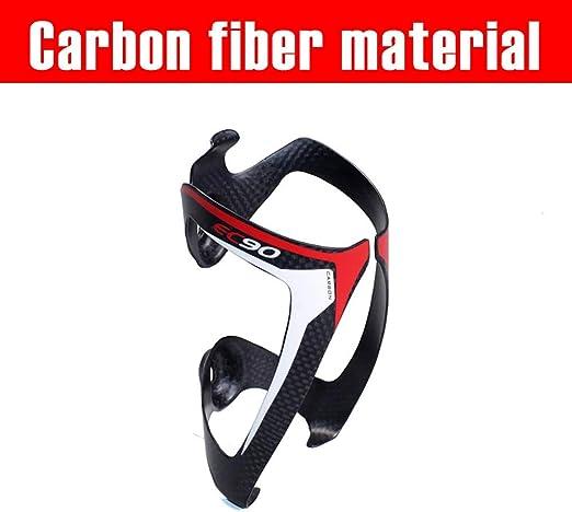 GuoYq Portabidón de Fibra de Carbono para Bicicletas ...