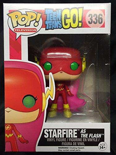 (Funko DC Teen Titans Go! Funko POP! Television Starfire as The Flash Exclusive Vinyl Figure #336)
