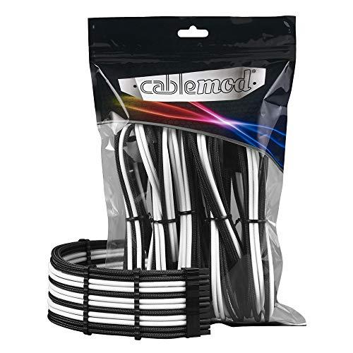 CableMod PRO ModMesh Cable Extension Kit - Black/White