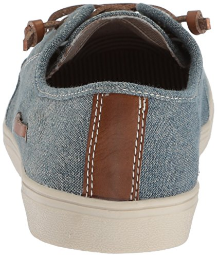 The Children's Place Boys' BB Laceup Street Slipper, Chambray, Youth 12 Medium US Infant - Image 2