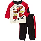 Disney Baby Boys Cars McQueen Pant and Shirt Outfit