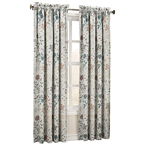 Ashlyn Floral Darkening Curtain Panel