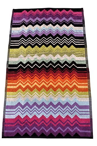 Missoni Toalla Toalla Towel ASCIUG Amano Toalla 41 x 72 cm - Naranja Label: Amazon.es: Hogar