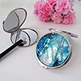 MADDesign Mother of Pearl Compact Purse Mirror