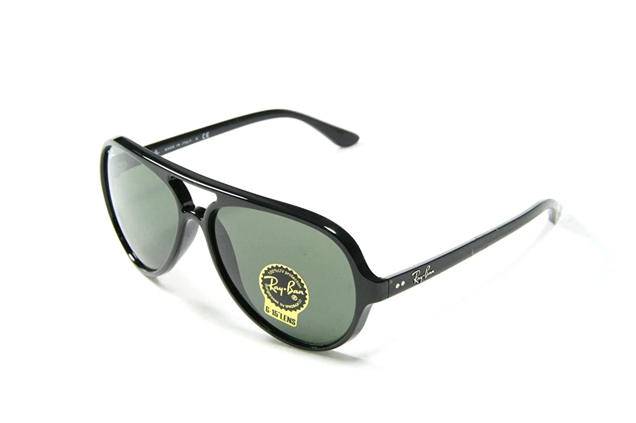 Ray-Ban RB4125 Cats 5000 Aviator Sunglasses