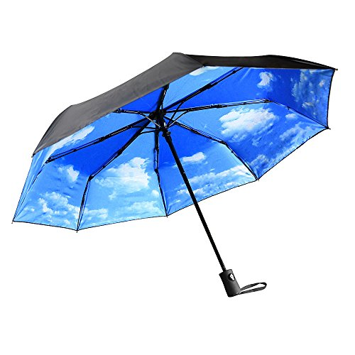 Amazon Lightning Deal 79% claimed: Innoo Tech Sun Umbrella Automatic Anti-UV Sun Protection Folding Travel Umbrella