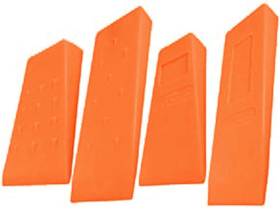 Die GarMills F/ällkeile Stachelschlagwerkzeuge f/ür Kettens/äge Baumstammschnitt 4er-Set mit 2 x 13,5cm und 2 x 20,5cm.