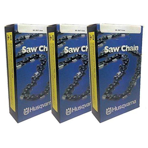 Set Of 3 OEM Husqvarna Chainsaw 28'' Chain H47 93DL 501842693 562XP 372XP
