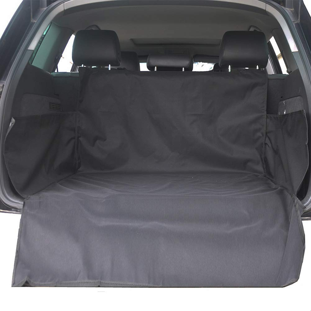 HONCENMAX Cane Veicolo Protezione Bagagliaio Auto Copertura per Sedile Cani Animale Domestico Coprisedile Stuoia Impermeabile Universale per SUV Camion Furgoni