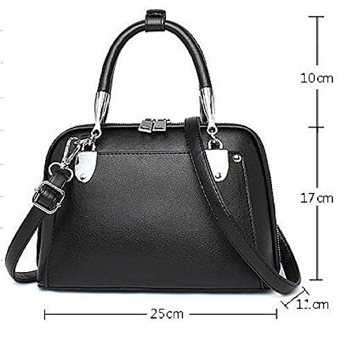 DHFUD PU Fashion High Handbag Blue Womens Metallic Crossbody Bag Shoulder Capacity HHwWnrqUAx