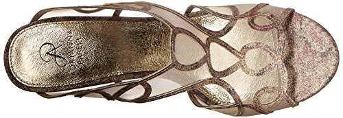 Gold Glam Adrianna Dress Women Papell Sandal WgfqAOf