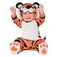 Disfraz de tigre bebé pequeño - 0-6 meses