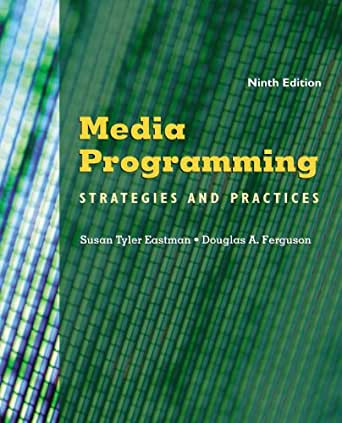 Media Programming: Strategies and Practices - Kindle
