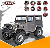 HSP 136100 Racing Cruiser 1/10 Scale Electric 4WD Off Road Rock Crawler Brushed Motor High Speed Hobby RC Car