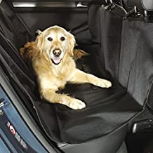 QUWEI Pet Seat Cover Waterproof, Side Flaps, Quilted, Non Slip Silicone Backing, Machine Washable for Cars, Trucks, SUV's & Vehicles