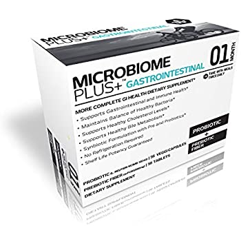 Amazon Com Microbiome Plus Gastrointestinal Probiotics L