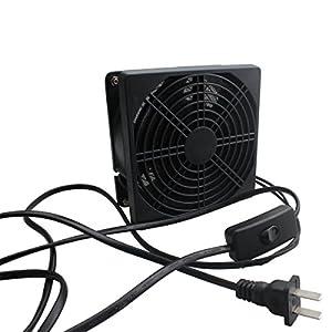 Kulannder Handy Carry Solder Smoker Absorber Remover Fume Extrator Smoke Prevention Absorber DIY Working Fan (Color: Black)
