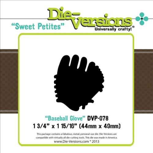 Die-Versions Sweet Petites Die-Baseball Glove 2 Pack