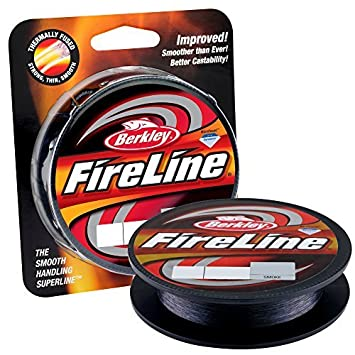 Berkley FireLine Fused Original, 8lb 300yd Smoke by Berkley