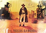 Nolan RyanSigned Auto Vintage Nike Texas Rangers Poster Mint 21787 - PSA/DNA Certified - Autographed MLB Photos