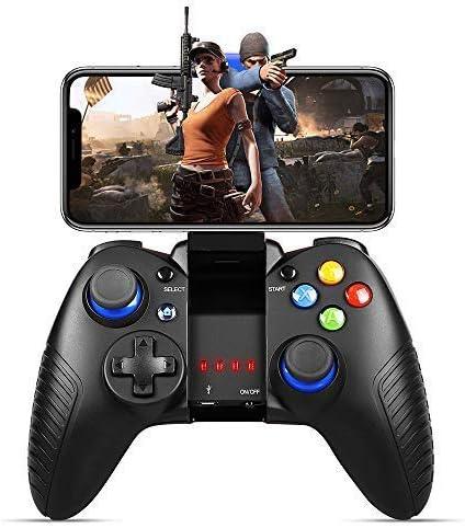 Controlador para iOS, PowerLead Controlador inalámbrico gamepad trabajar con iOS y Android Otro teléfono - Juego directo