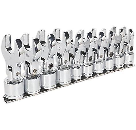 Draper 61034 Juego de llaves de vaso pack de 8