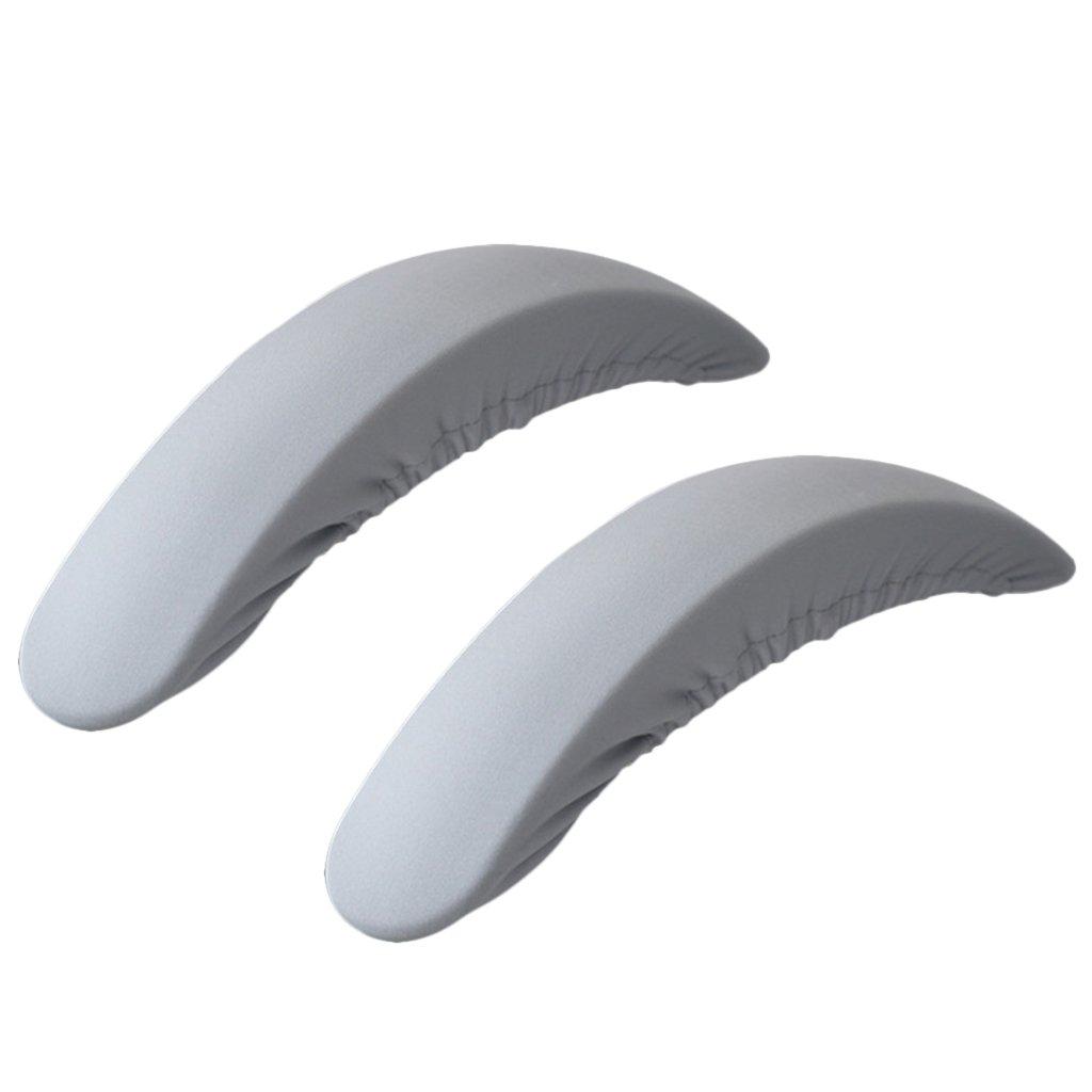 Sharplace Copertura Di Braccioli Di Sedile Copribraccioli In Tessuto Elastico Per Poltrone 30-50 cm - Blu