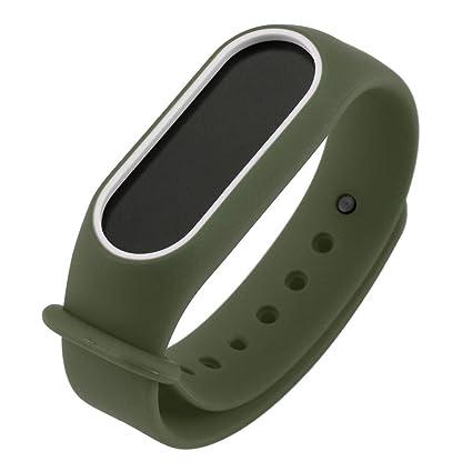 para Xiaomi Mi Band 2 Bracelet,Correa de la Venda de la Pulsera del Gel